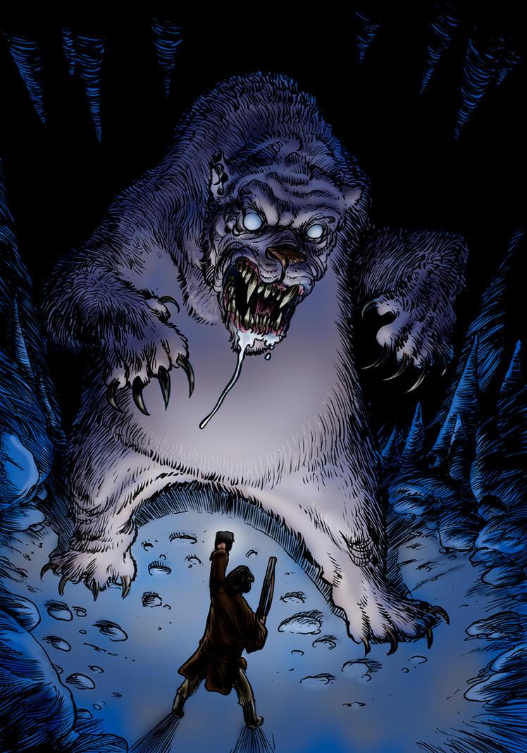 The Terror Of Blue John Gap by Loneanimator