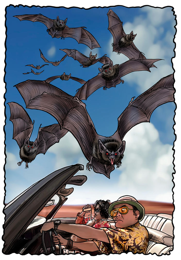 Bat Country, Nevada by Loneanimator