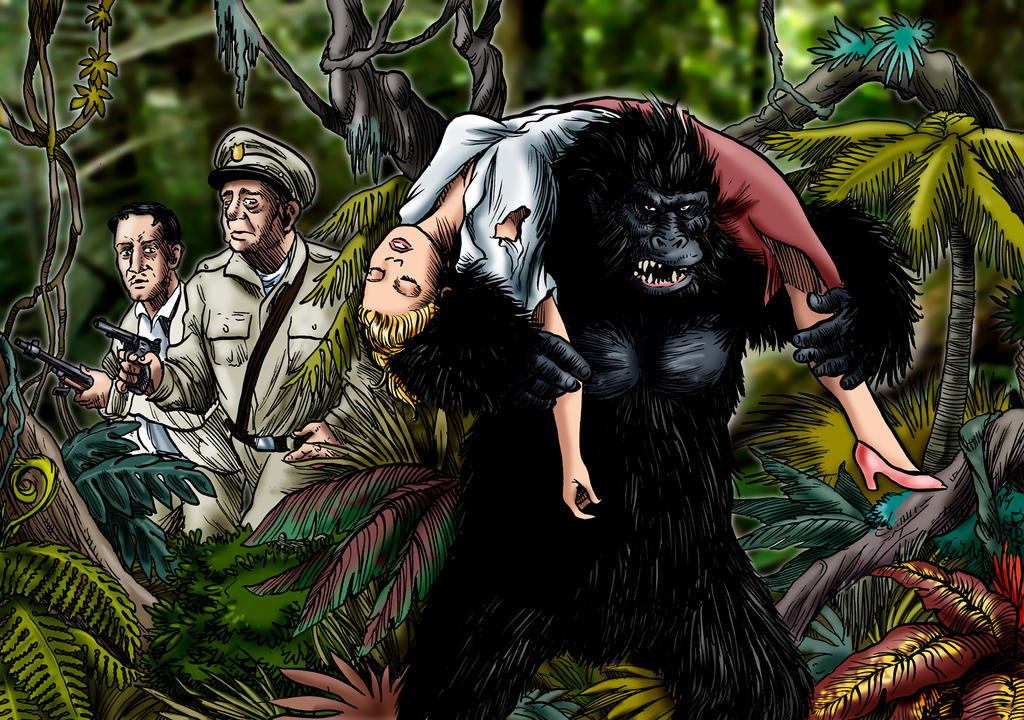 Bride Of The Gorilla by Loneanimator