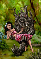 Tree Monster Love by Loneanimator