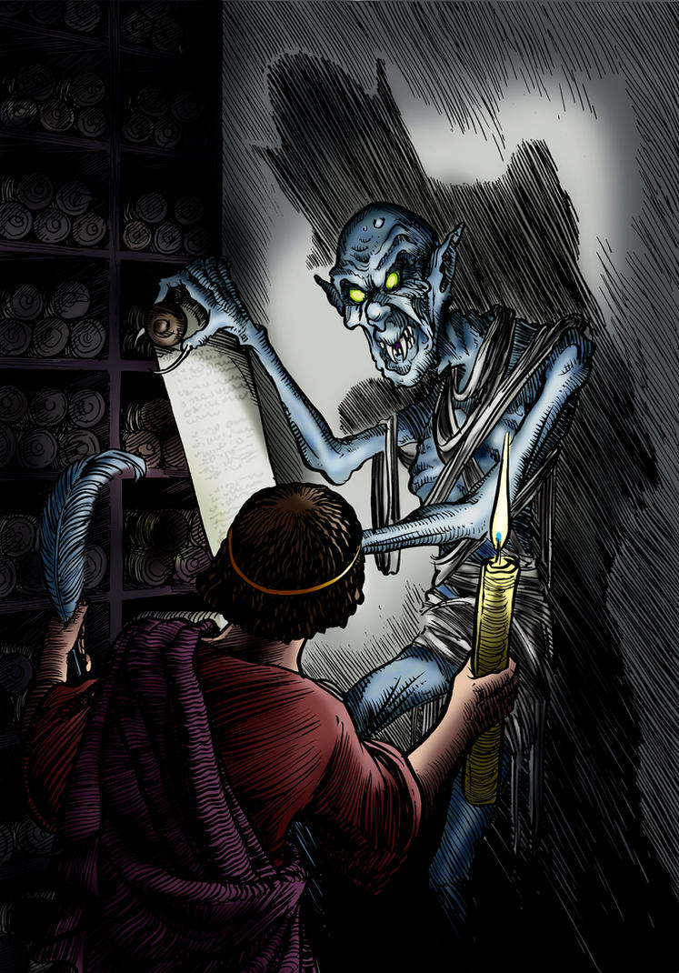 The Spectre In The Temple by Loneanimator
