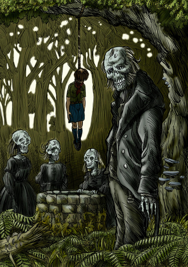 Beside the Wailing Well by Loneanimator