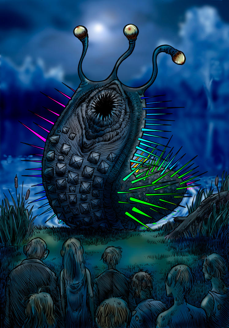 The Inhabitant Of The Lake by Loneanimator