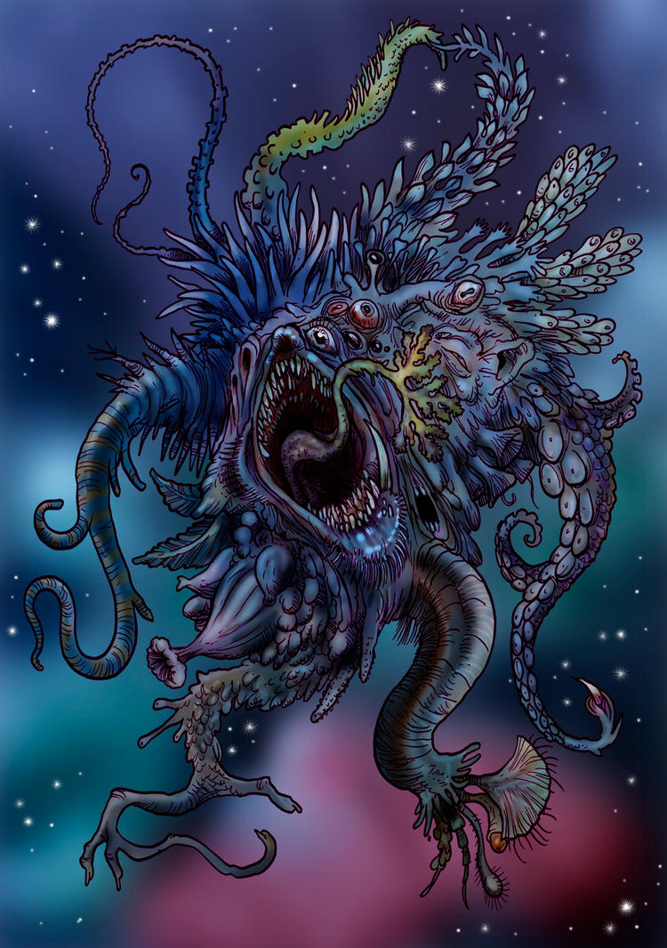 Cosmic Horror by Loneanimator