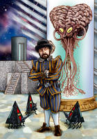 Doctor Who and the Brain of Evil by Loneanimator