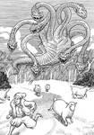Inktober Monster Challenge15: Herren-surge