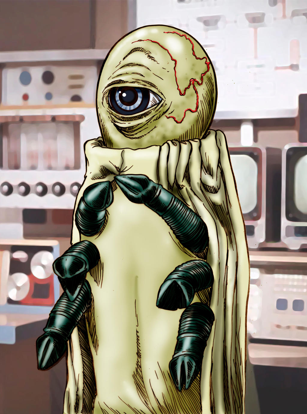 Alpha Centauri, Intrepid Intergalactic Diplomat by Loneanimator
