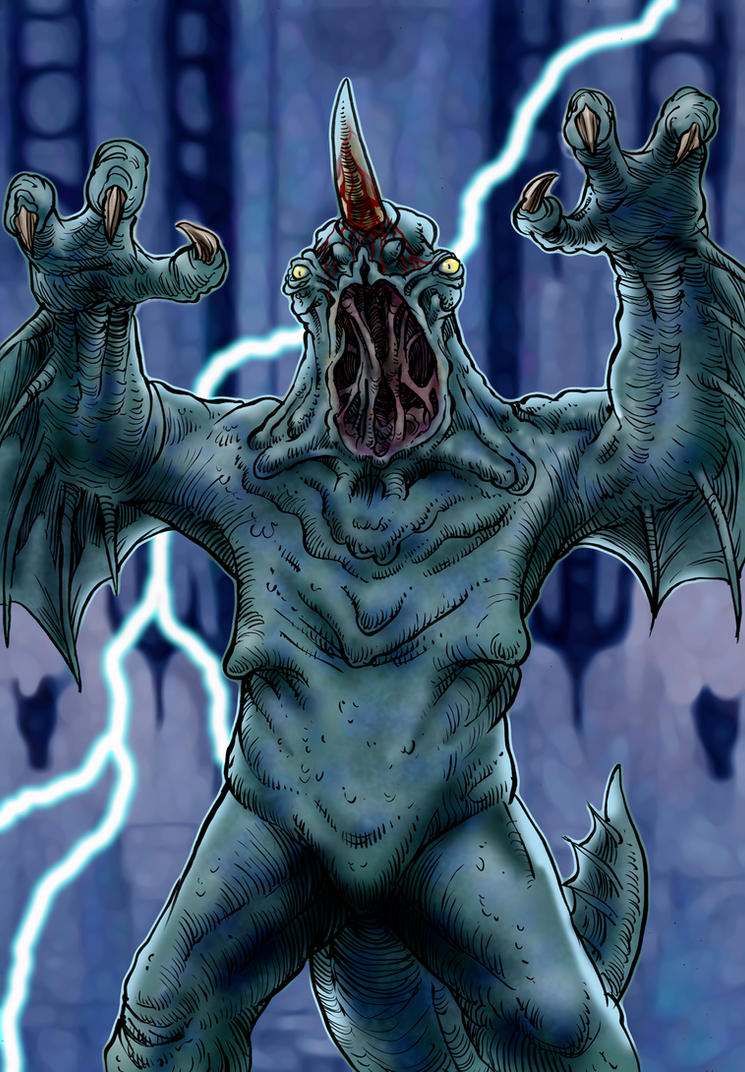 Dagoth, God of Gods by Loneanimator