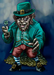 A Happy St P To Ya! by Loneanimator