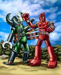 Mach Baron vs Springer X by Loneanimator