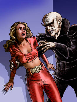 Wilma and the Space Vampire