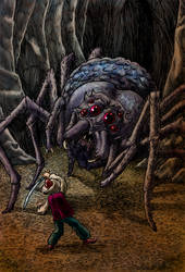 Beware the Spiders From Leng
