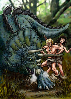 Stegoceratops vs Yor