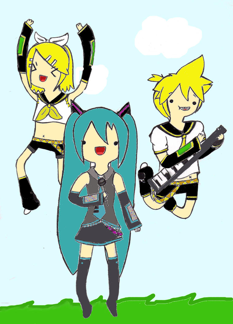 AAAADVENTURE TIME :vocaloid: by Keikostar98