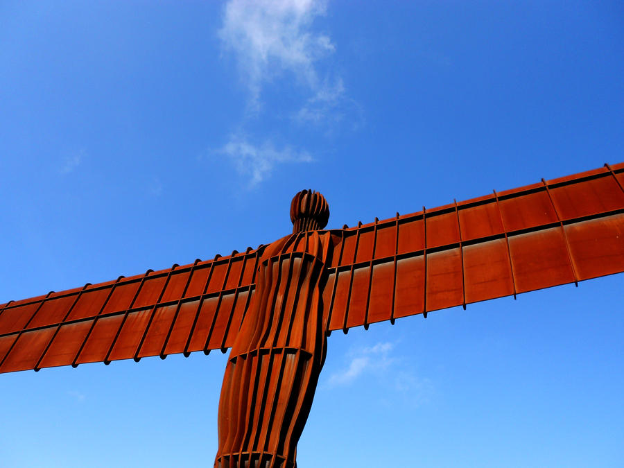Angel Of the north Landscape D by Billiam268
