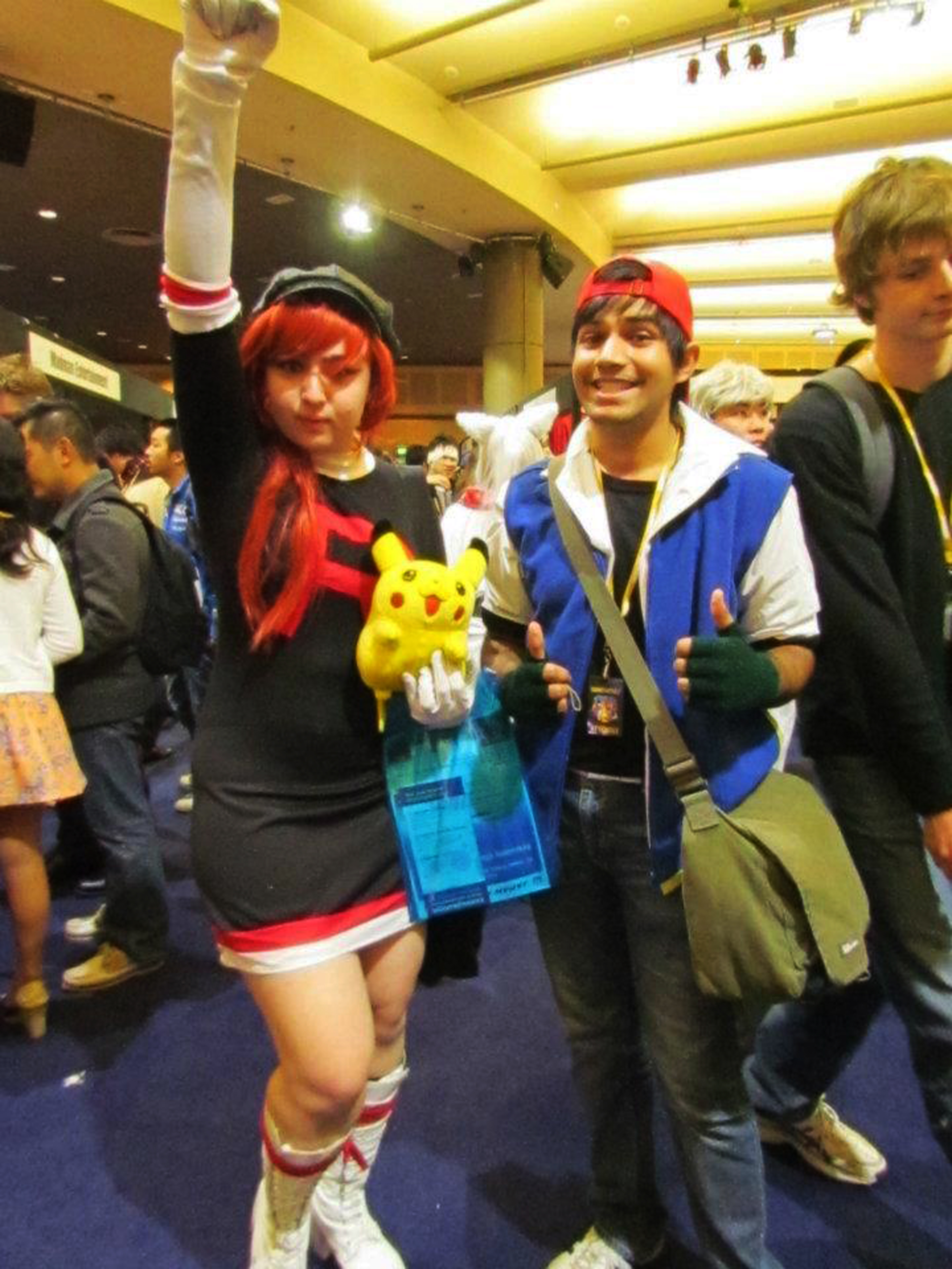 pokemon team rocket and ash ketchum cosplay by naygallo on