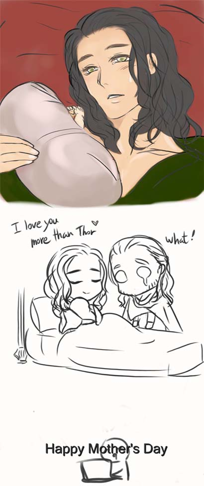 Happy Mother's Day !Loki^^ by AviHistten on DeviantArt