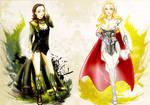 Lady Thorki -Asgard Angels