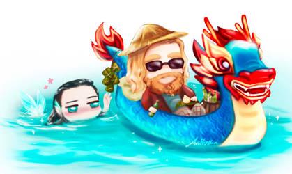 Late But Happy Dragon Boat Festival by AviHistten