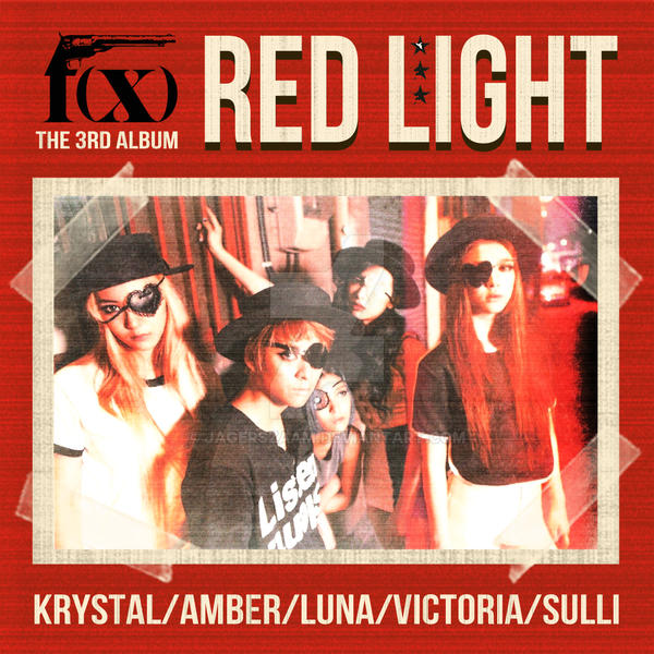 Fx Red Light Album Cover | www.pixshark.com - Images ... F(x) Kpop Red Light