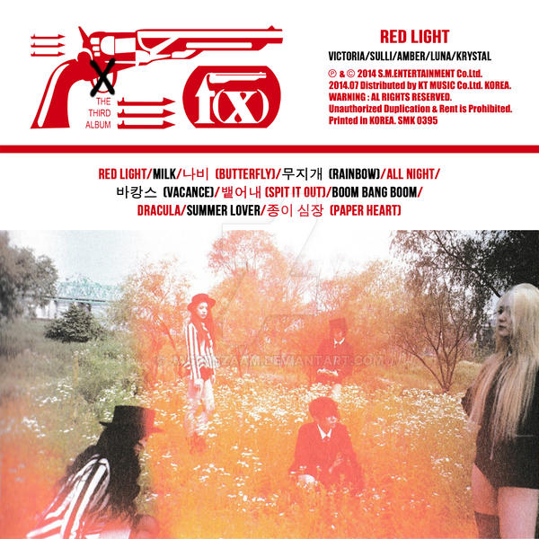 f(x)'s Red Light: The 3rd Album (Sleepy Cats) by ...