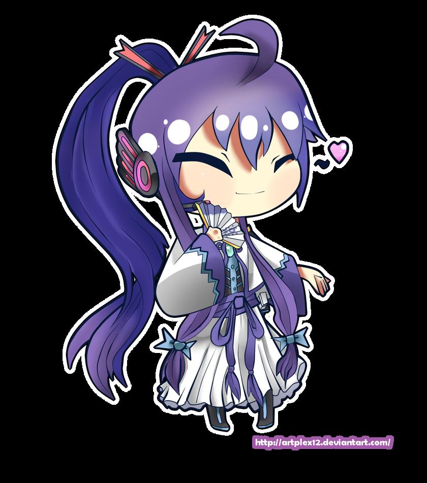 Vocaloid chibi series- Kamui Gakupo by Artplex12 on DeviantArt