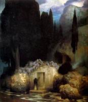 The Tomb of Bocklin by Ferdinand Keller