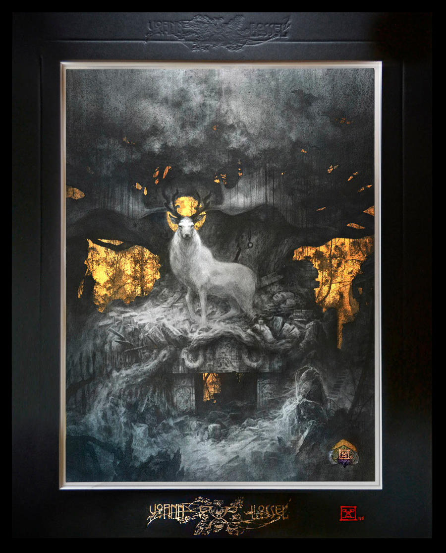 The Forgotten Gods - Deluxe edition, limited to 5 by Yoann-Lossel