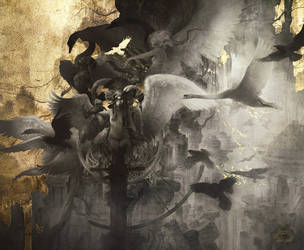 The Fall by Yoann-Lossel