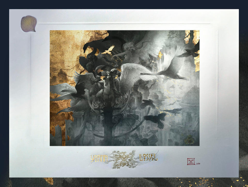 the fall fine art prints limited to 100 by yoann lossel on deviantart. Black Bedroom Furniture Sets. Home Design Ideas