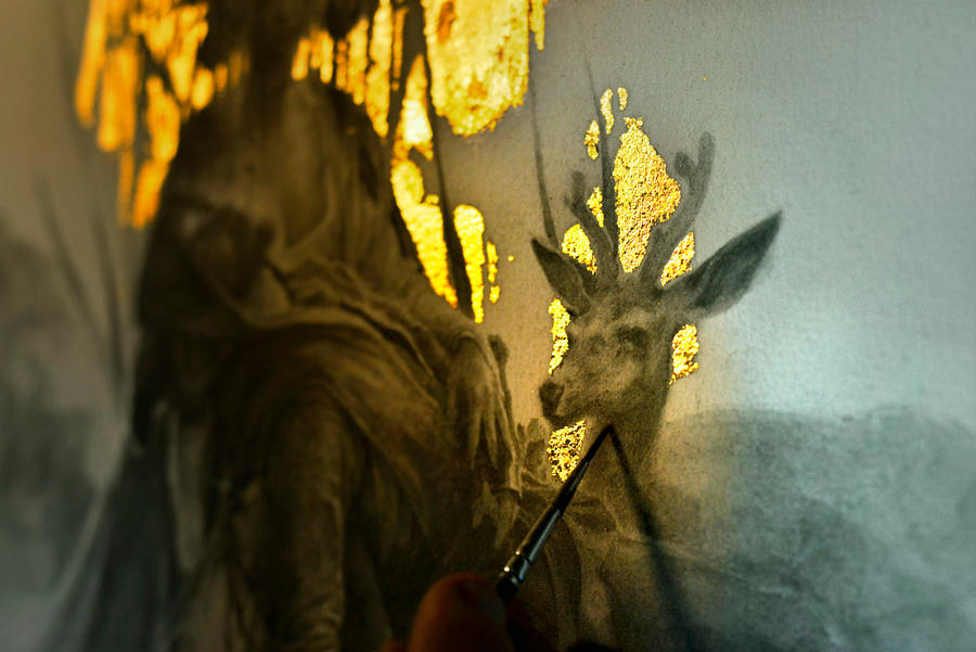 Eros et Thanatos... Work in progress 3... by Yoann-Lossel