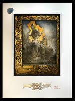 Fine Art Print of Eros et Thanatos by Yoann-Lossel