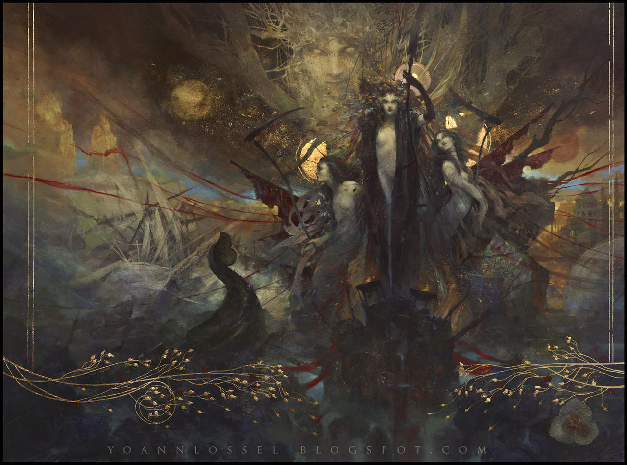 The Flowers of Evil by Yoann Lossel on DeviantArt