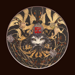 Acanthe I - Yoann Lossel - graphite gold leaf by Yoann-Lossel