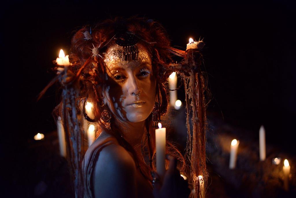 Nyx, Goddess of Night by Yoann-Lossel
