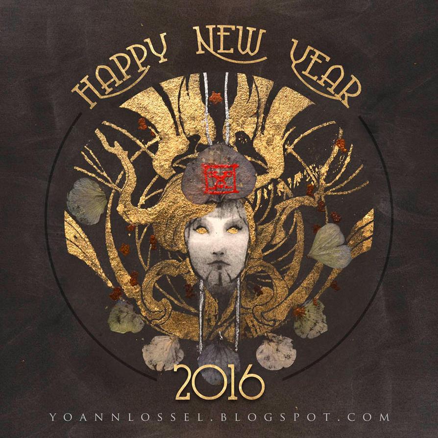 Happy New Year 2016 by Yoann-Lossel