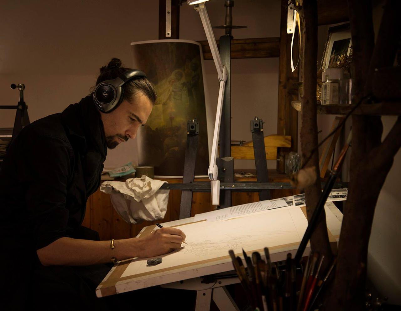 New Studio... by Yoann-Lossel