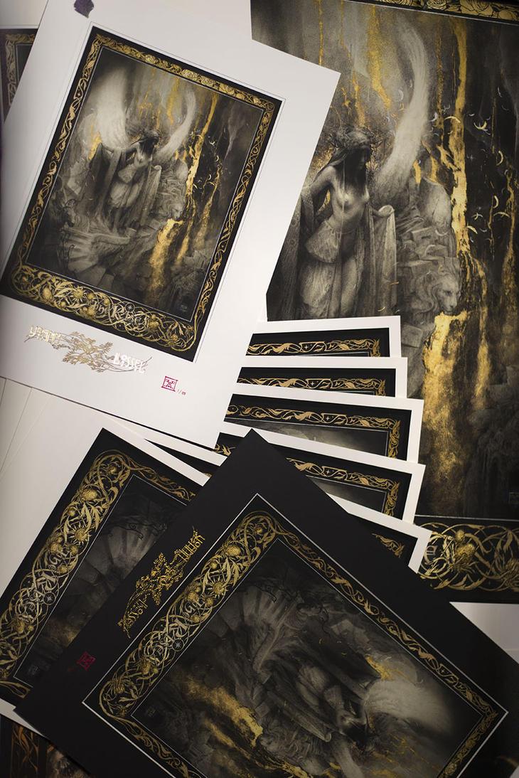 The Rise - Fine Art Giclee Prints by Yoann-Lossel
