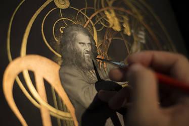 Beowulf... work in progress 2 : Grendel by Yoann-Lossel