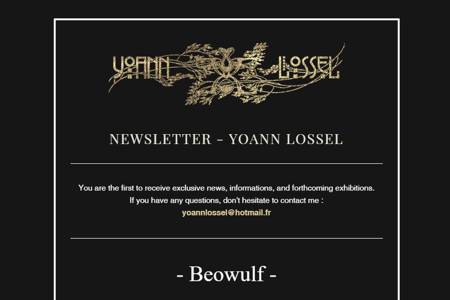 Mailing List Yoann Lossel by Yoann-Lossel