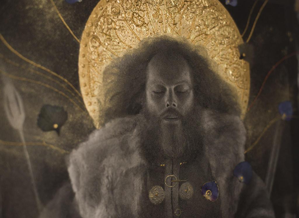 Beowulf... work in progress 7... The Shield by Yoann-Lossel