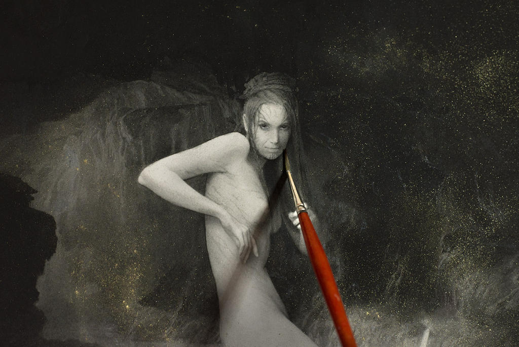 Beowulf... work in progress 9... Grendel's Mother by Yoann-Lossel
