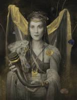 Wealhtheow by Yoann-Lossel