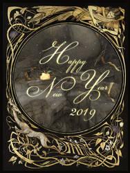 Happy New Year 2019! by Yoann-Lossel