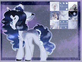 Pone Adopt::#2 AUCTION::CLOSED:: Moonstar Bliss