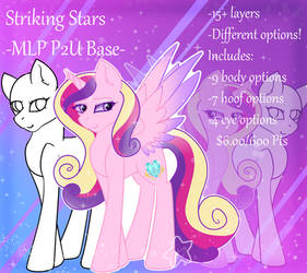 Striking Stars MLP P2U Base