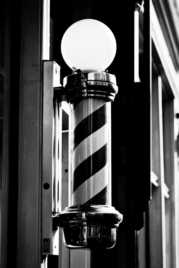 Barber s Pole by Z-GrimVBarber Pole Black And White