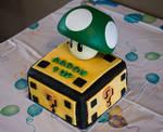1up birthday cake