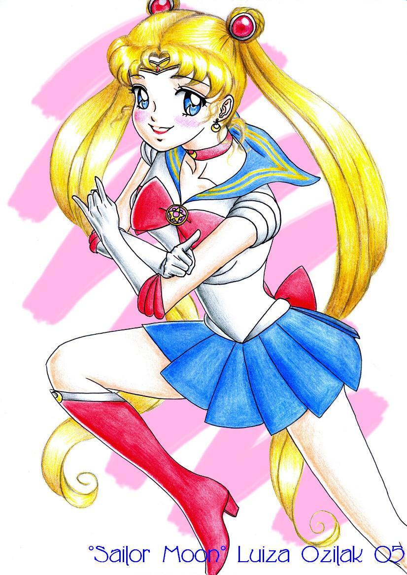 Sailor Moon by luizamoony