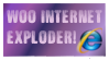 Internet Exploder Stamp by RedSarine